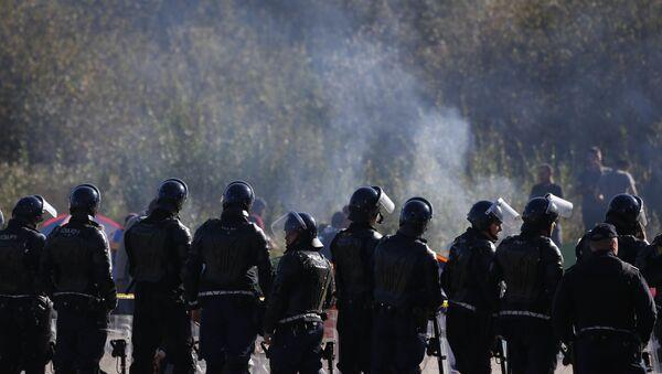 Hrvatska policija na granici - Sputnik Srbija