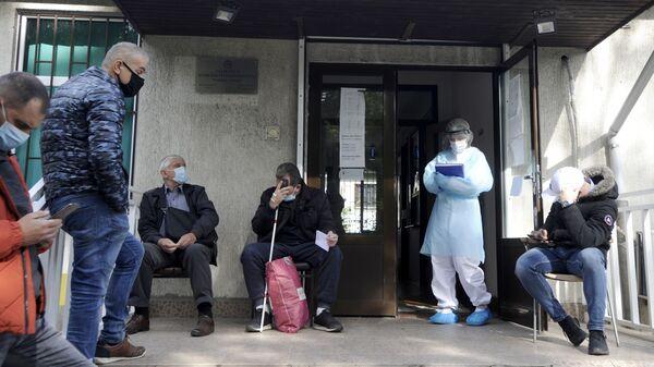 Kовид амбулантa у Земуну - Sputnik Србија