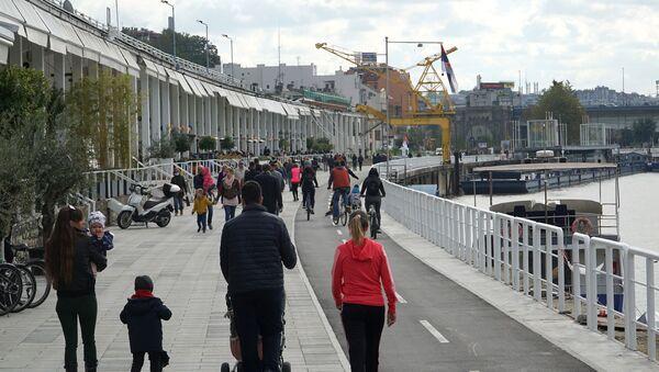 Savska promenada o oktobru u Beogradu - Sputnik Srbija