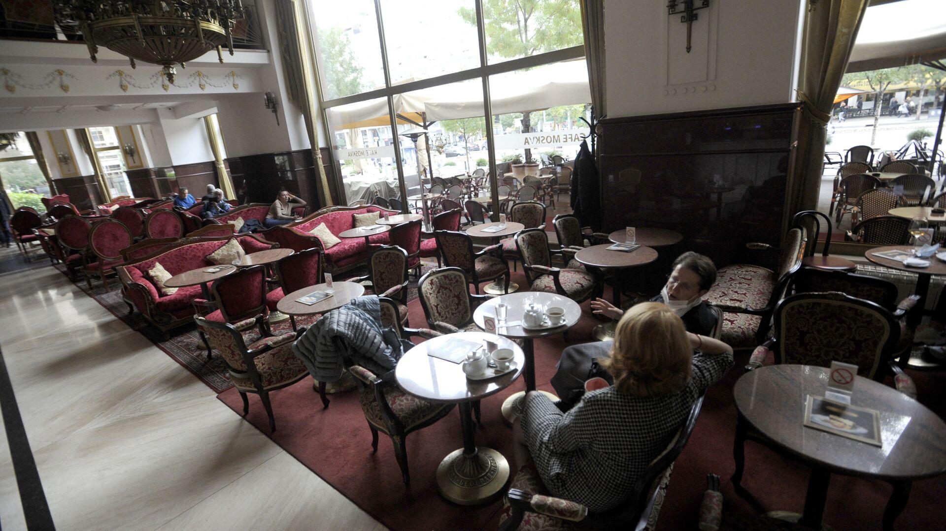 Kafe Moskva u Beogradu - Sputnik Srbija, 1920, 09.10.2021