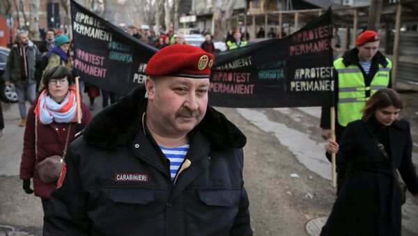Протести у Молдавији након парламентарних избора - Sputnik Србија
