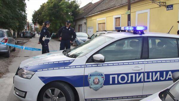 Policijski uviđaj u Novom Sadu - Sputnik Srbija