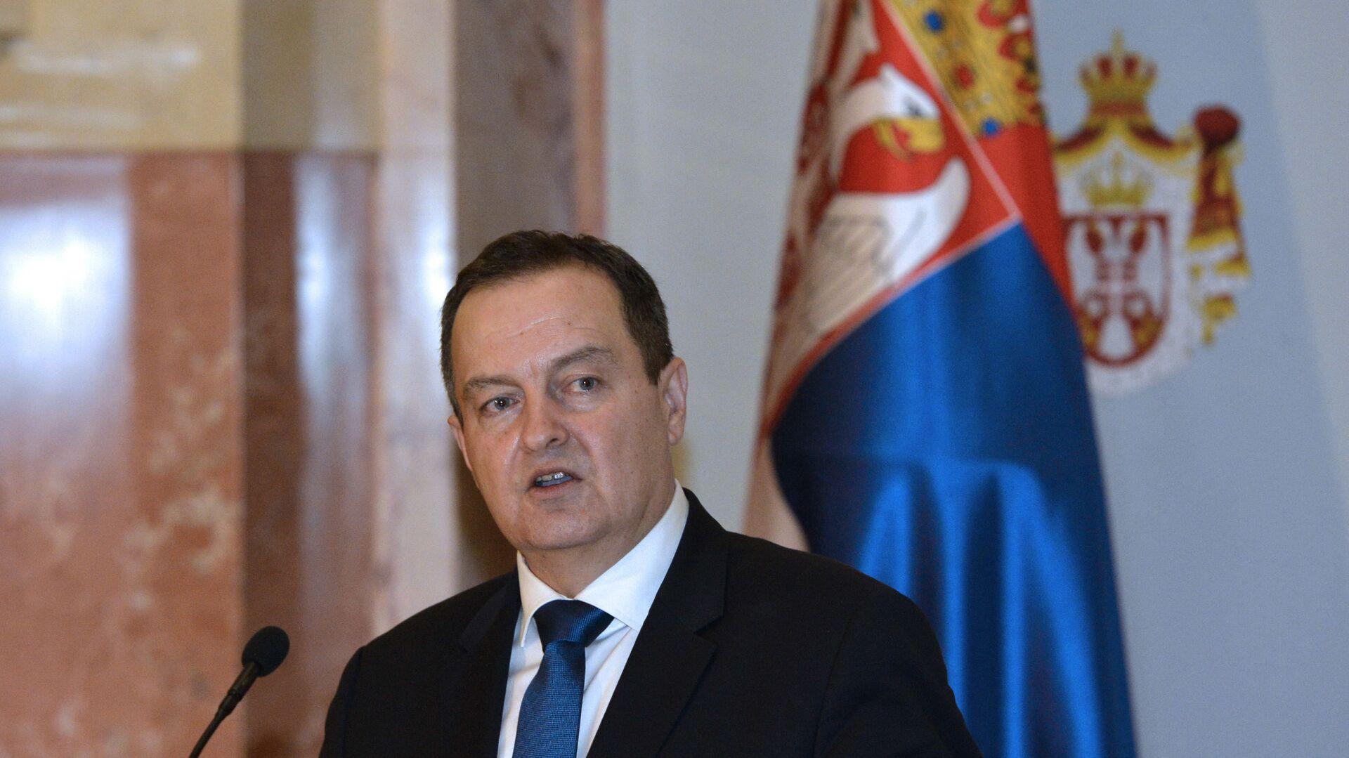 Председник Скупштине Србије Ивица Дачић - Sputnik Србија, 1920, 19.04.2021