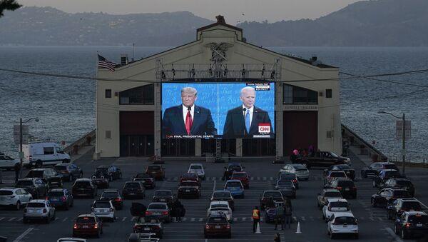 Доналд Трамп и Џо Бајден - Sputnik Србија