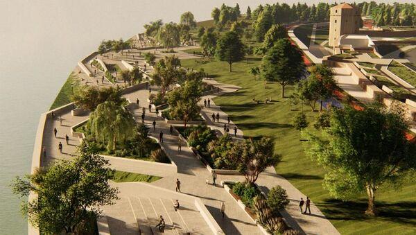 Линијски парк Дорћол - Sputnik Србија