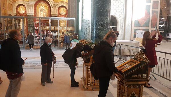 Храм Светог Саве отворен за народ - Sputnik Србија