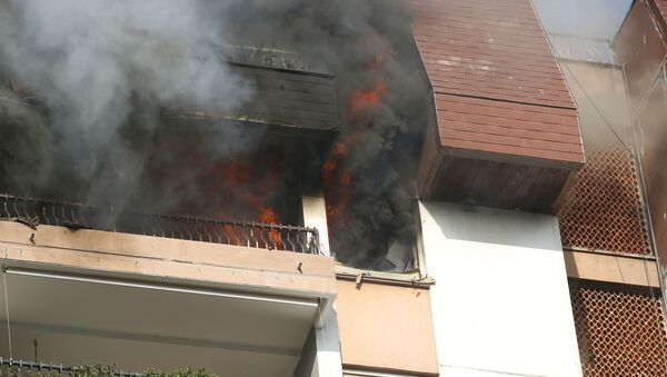 Požar u stanu na Dorćolu - Sputnik Srbija