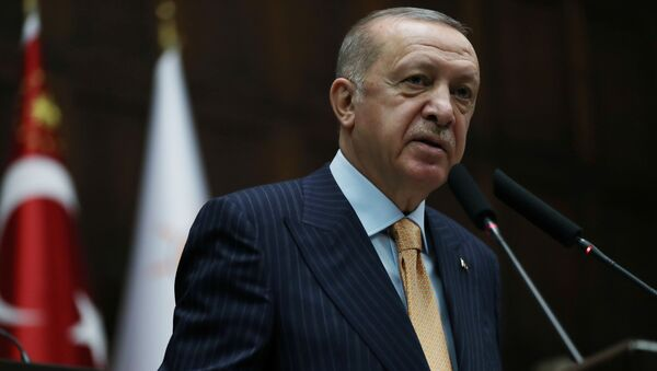 Председник Турске Реџеп Тајип Ердоган - Sputnik Србија