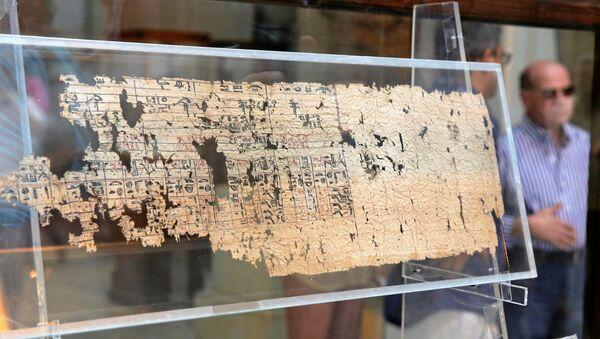Papirus iz starog Egipta na izložbi - Sputnik Srbija