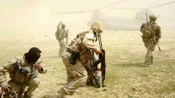 Аустралијски специјалци у Авганистану заједно са припадницима авганистанске војске - Sputnik Србија