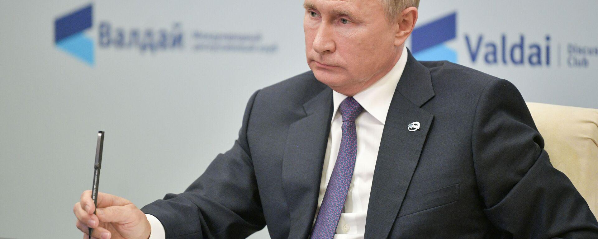 Predsednik Rusije Vladimir Putin - Sputnik Srbija, 1920, 04.12.2020