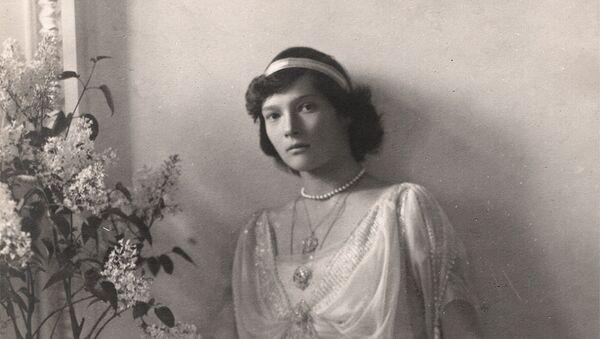 Велика кнегињица Татјана Николајевна, често описивана као најлепша ћерка Николаја Романова - Sputnik Србија