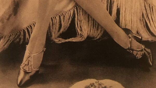 Детаљ из модног часописа двадесетих година 20. века - Sputnik Србија
