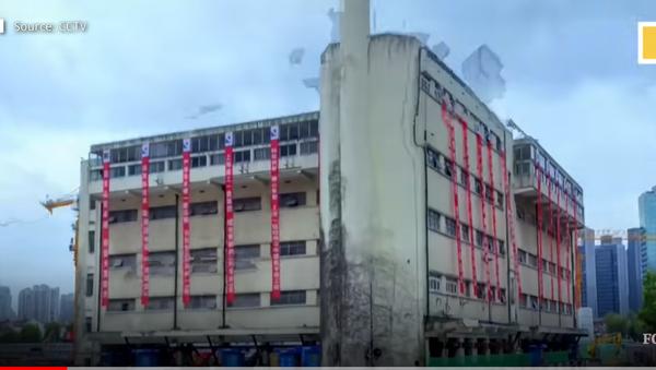 Šetnja zgrade u Šangaju - Sputnik Srbija