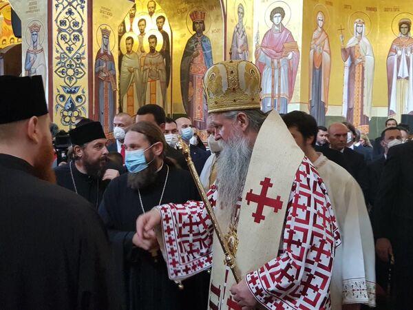 Епископ будимљанско-никшићки Јоаникије - Sputnik Србија