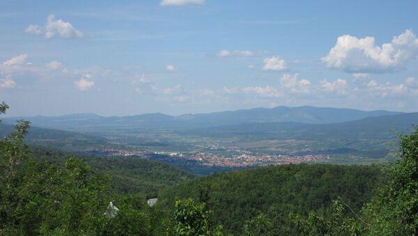 Поглед на Књажевац са Тресибабе - Sputnik Србија