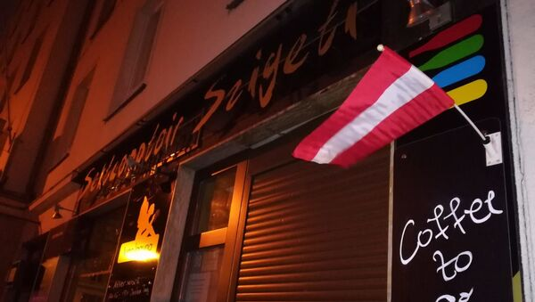 Restoran više neće raditi, ali ne zbog terorizma, već zbog korona virusa koji je od danas zaključao Beč. - Sputnik Srbija