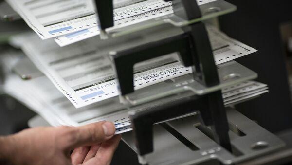 Бројање гласова после председничких избора у САД - Sputnik Србија