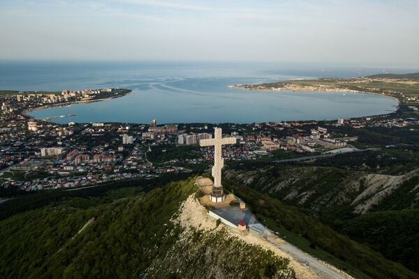 Поглед на град Геленџик, Краснодарски крај.  - Sputnik Србија