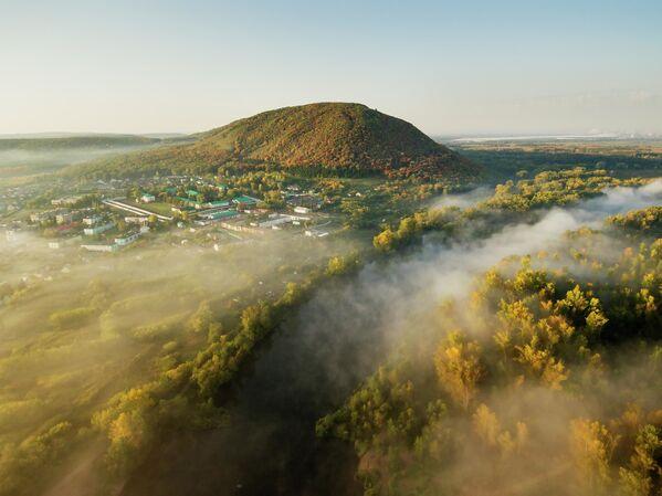 Поглед на планину Куштау у Башкирији - Sputnik Србија
