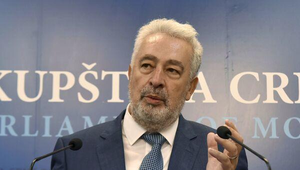 Premijer Crne Gore Zdravko Krivokapić - Sputnik Srbija