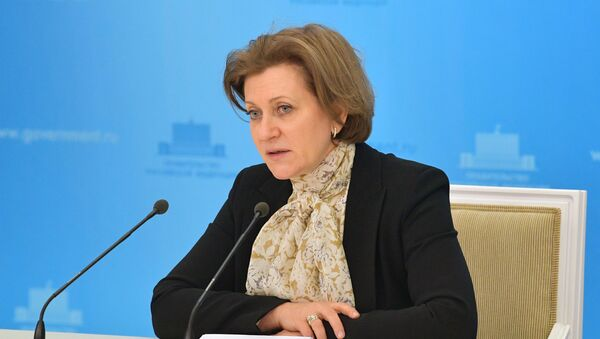 Ана Попова, директорка руске савезне службе за фитосанитарни надзор Роспотребнадзор - Sputnik Србија
