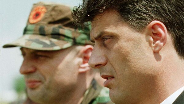 Агим Чеку и Хашим Тачи - Sputnik Србија