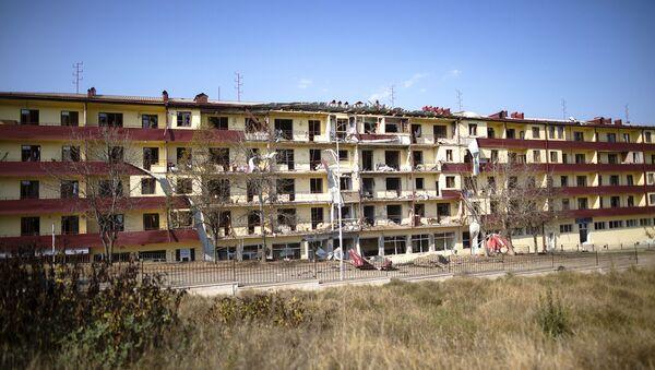 Granatirani grad Šiši, Karabah - Sputnik Srbija
