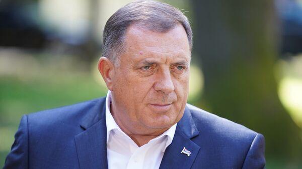 Српски члан Председништва БиХ Милорад Додик - Sputnik Србија