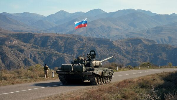 Руски мировњаци у Карабаху - Sputnik Србија