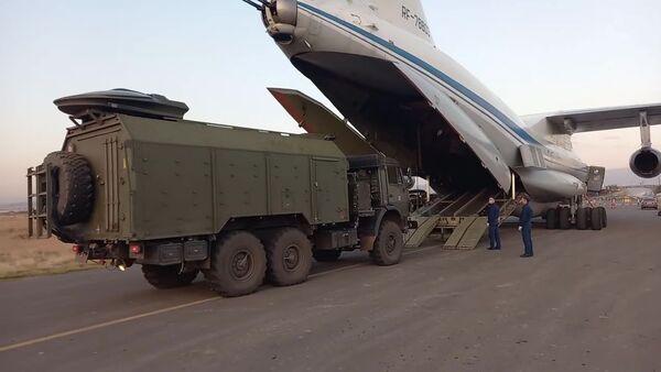 Долазак руских мировних снага у Нагорно-Карабах - Sputnik Србија