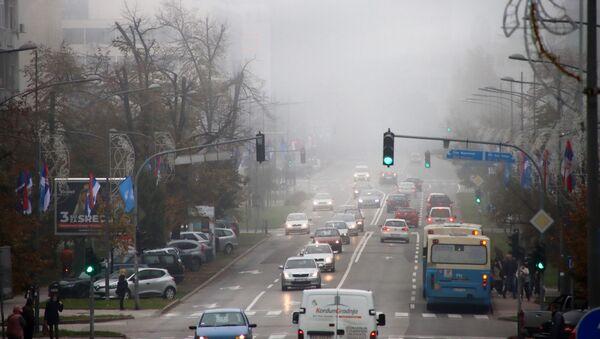 Jutarnja magla u Novom Sadu - Sputnik Srbija