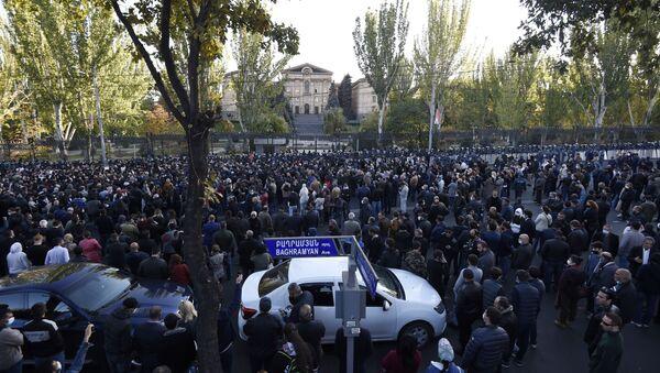 Demonstracije u Jerevanu - Sputnik Srbija