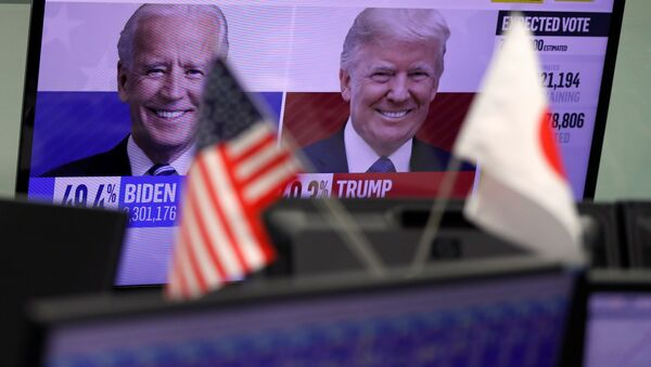 Монитор са резултатима председничких избора у САД - Sputnik Србија