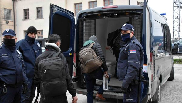 Migranti u Šidu - Sputnik Srbija