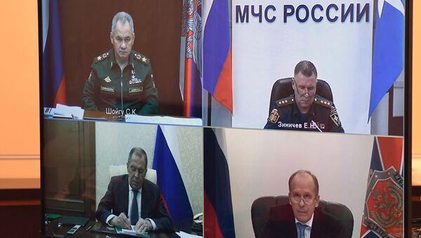 Šojgu: U Nagorno-Karabahu raspoređeno do sada 1.100 mirovnjaka - Sputnik Srbija