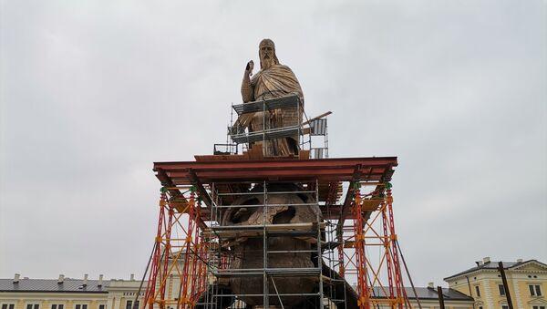 Spomenik Stefanu Nemanji na Savskom trgu u Beogradu - Sputnik Srbija