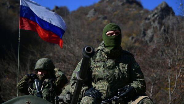 Rossiйskie mirotvorcы v Nagornom Karabahe - Sputnik Srbija