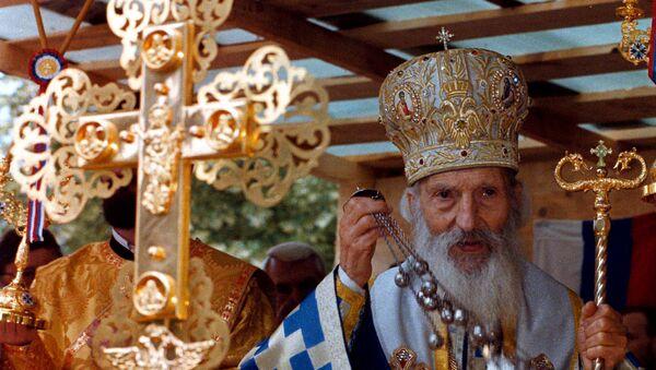 Patrijarh Pavle, poglavar Srpske pravoslavne crkve,16. maja 2008. godine - Sputnik Srbija