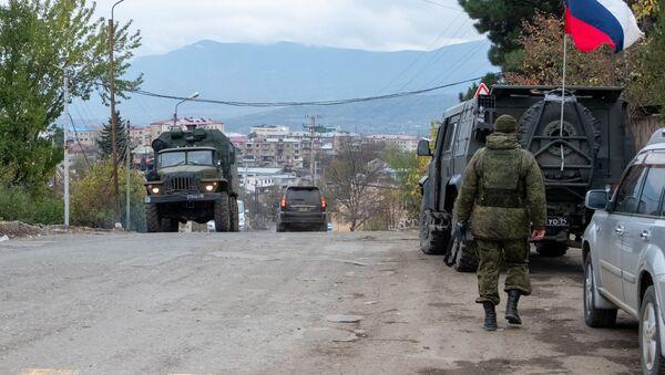 Руски миротворци у Нагорно-Карабаху - Sputnik Србија