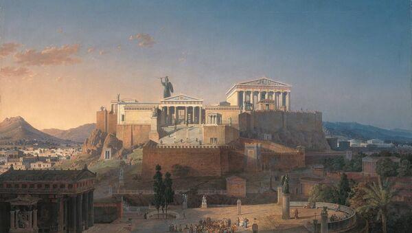 Antički akropolis u zlatno doba - Sputnik Srbija