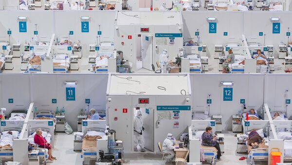 Kovid bolnica u Moskvi - Sputnik Srbija