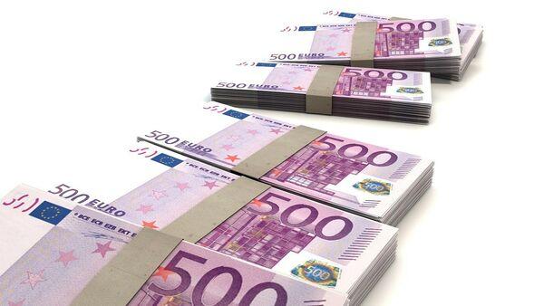 Novčanice od 500 evra – ilustracija - Sputnik Srbija