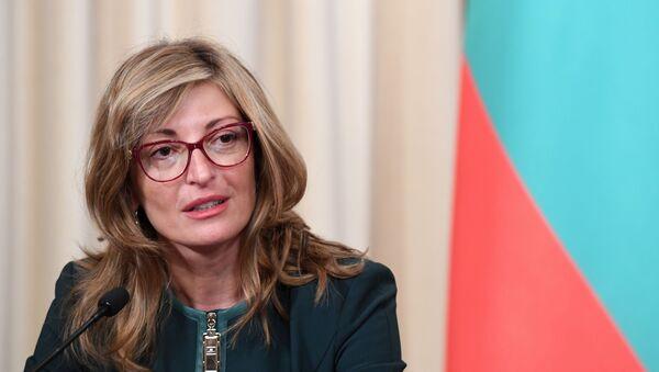Министарка спољних послова Бугарске Екатерина Захаријева - Sputnik Србија
