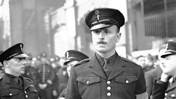 Лидер Британске уније фашиста Освалд Мосли - Sputnik Србија