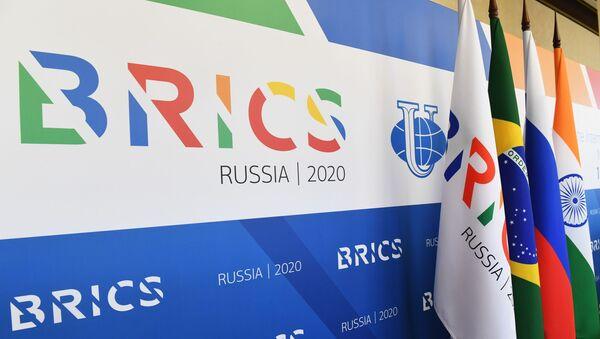 Лого организације БРИКС - Sputnik Србија