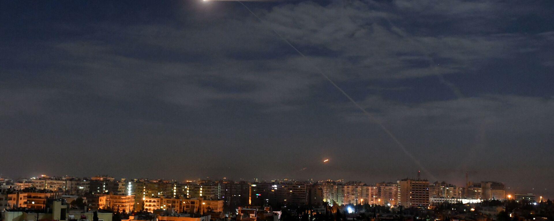 Napad Izraela na Damask - Sputnik Srbija, 1920, 03.09.2021