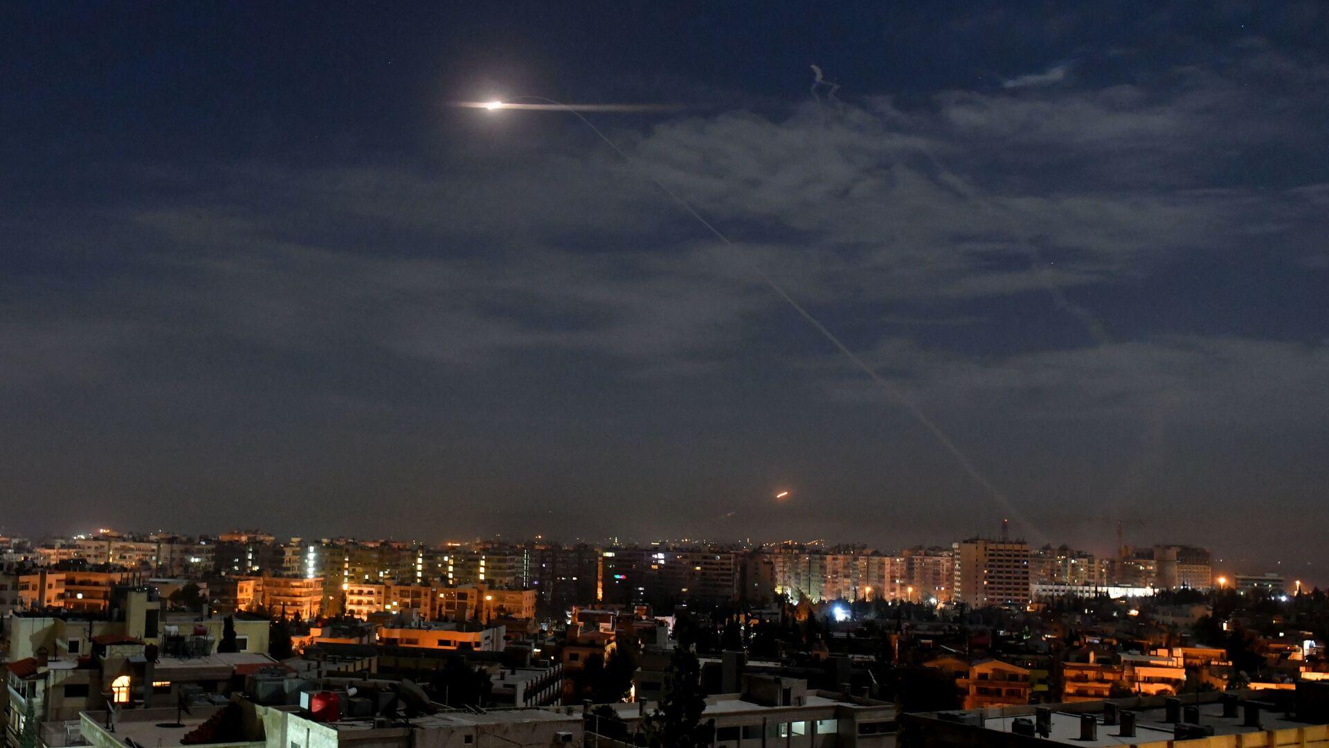 Напад Израела на Дамаск - Sputnik Србија, 1920, 26.02.2021
