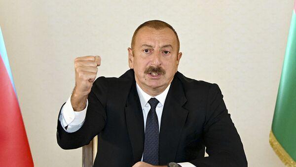 Председник Азербејџана Илхам Алијев - Sputnik Србија