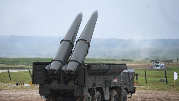Самоходни противваздушни ракетни систем 9П78-1 Искандер М - Sputnik Србија